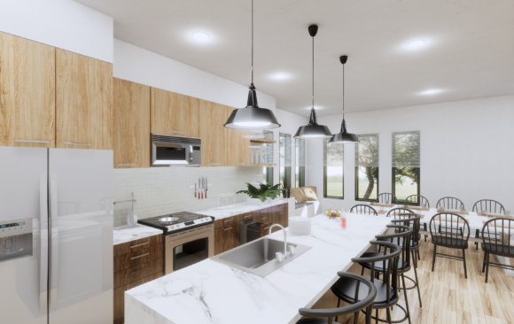 Modernized Kitchen Remodel